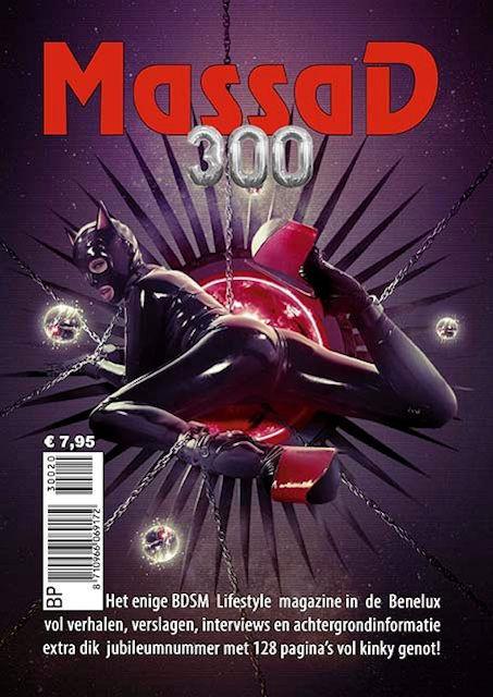 Massad BDSM Magazine nummer 300 en klein prijsvraagje BDSMradio.EU