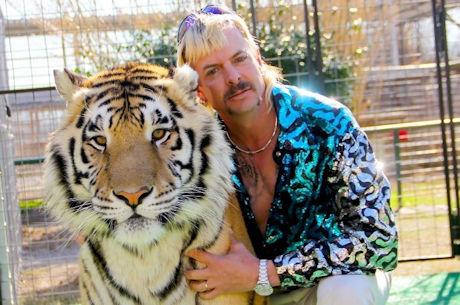 BELGIE - 'Joe Exotic' is alvast dé cultfiguur van 2020. Wie maar niet genoeg kan krijgen van hem en de Netflix-reeks 'Tiger King', kan de excentrieke leeuwentemmer nu nog beter leren kennen dankzij… de Sinnovator Tiger King Realistic Dildo.
